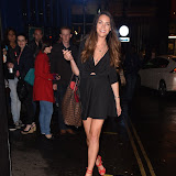 OIC - ENTSIMAGES.COM - Sara McLean Seen going into The Box Soho Cabaret Night Club, London, 14th August 2015 Photo Mobis Photos/OIC 0203 174 1069