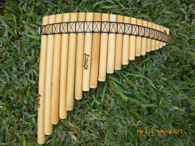 PROFESSIONAL CURVED LUPACA PAN FLUTE 21 PIPES - FROM PERU - | eBay