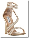 Steve Madden Glitter Multi Strap High Sandals