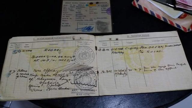 LAPAK SURAT MOBIL TUA : Dijual Surat Dodge 42 - TASIKMALAYA