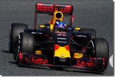 Max Verstappen nei test di Barcellona 2016