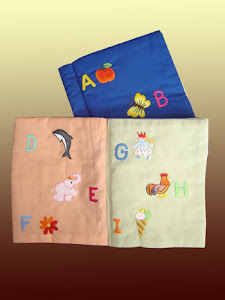 Alphabet Embroidery Book