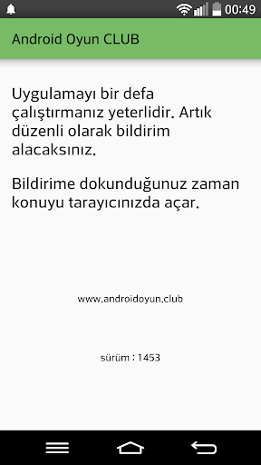 AOClub Bildirim 1453.2 screenshots 1