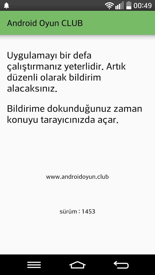 Screenshots of AOClub Bildirim for iPhone