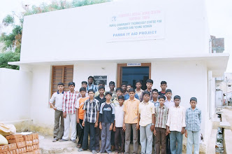 Photo: A group of young boys who have attended our training courses at our rural CTC