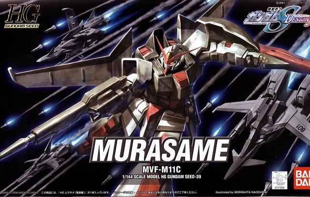 Mô hình Murasame HG Gundam Seed 39 tỷ lệ 1/144 phù hợp cho các bé trai trên 8 tuổi