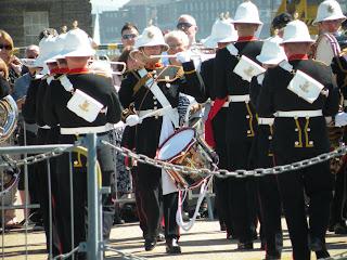 Портсмут. Военно-Морской Музей. Празднование Дня Вооруженных Сил. Военный Оркестр.