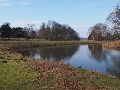 Holkham Hall lake
