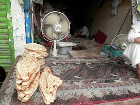 Famous *Afghani Naan* in Rawalpindi