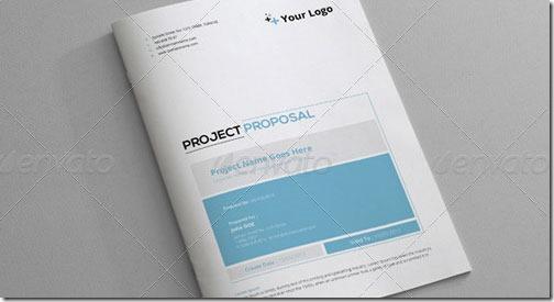 Plantilla 16 páginas para Word (DOCX), con facturas, proyecto, etc