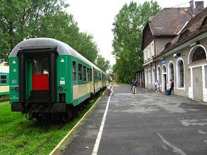 Photo: Kudowa Zdrój: Skład pociągu Kamieńczyk