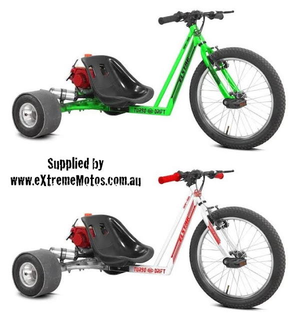 Motorized Drift Trike Petrol Powered
