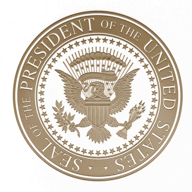 President Seal Gold HR