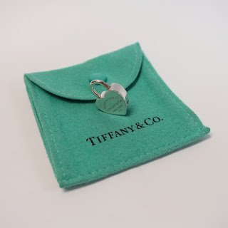 Tiffany & Co. Sterling Love Lock Charm