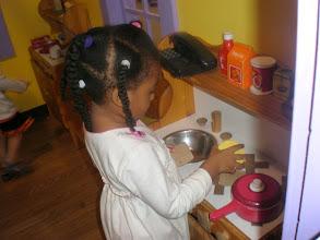 Photo: workin the kitchen