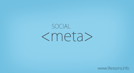 Social Meta Tags for Google, Twitter and Facebook