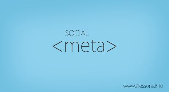 Social Meta Tags