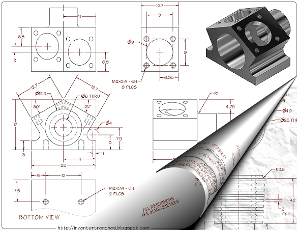 Autocad Mechanical Drawing Exercises Pdf - 2d drawing questionautocad ...