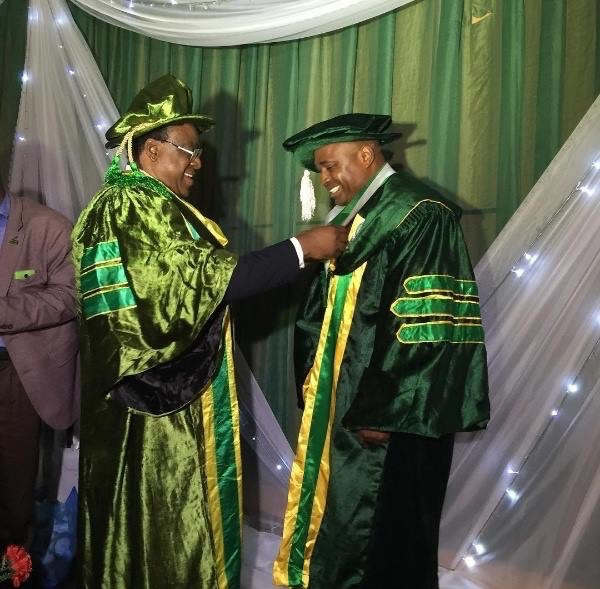 Nollywood actor Kenneth Okonkwo awarded Professional Doctorate Fellowship Award [PHOTOS] 3