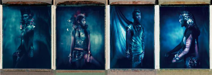 *CLOT FW 2012:Tribesmen 找來夏永康拍出民族圖騰藝術品 1