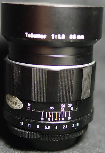 Asahi Super-Takumar 1:1.9/85