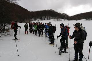 Corso Escursionismo in Ambiente Innevato 2014