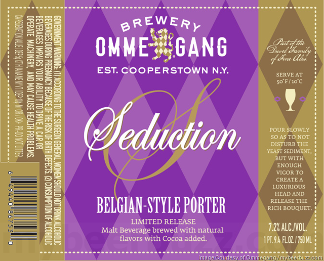 Ommegang Seduction Returns For 2018