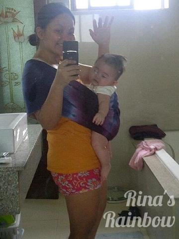 tie dye baby wear