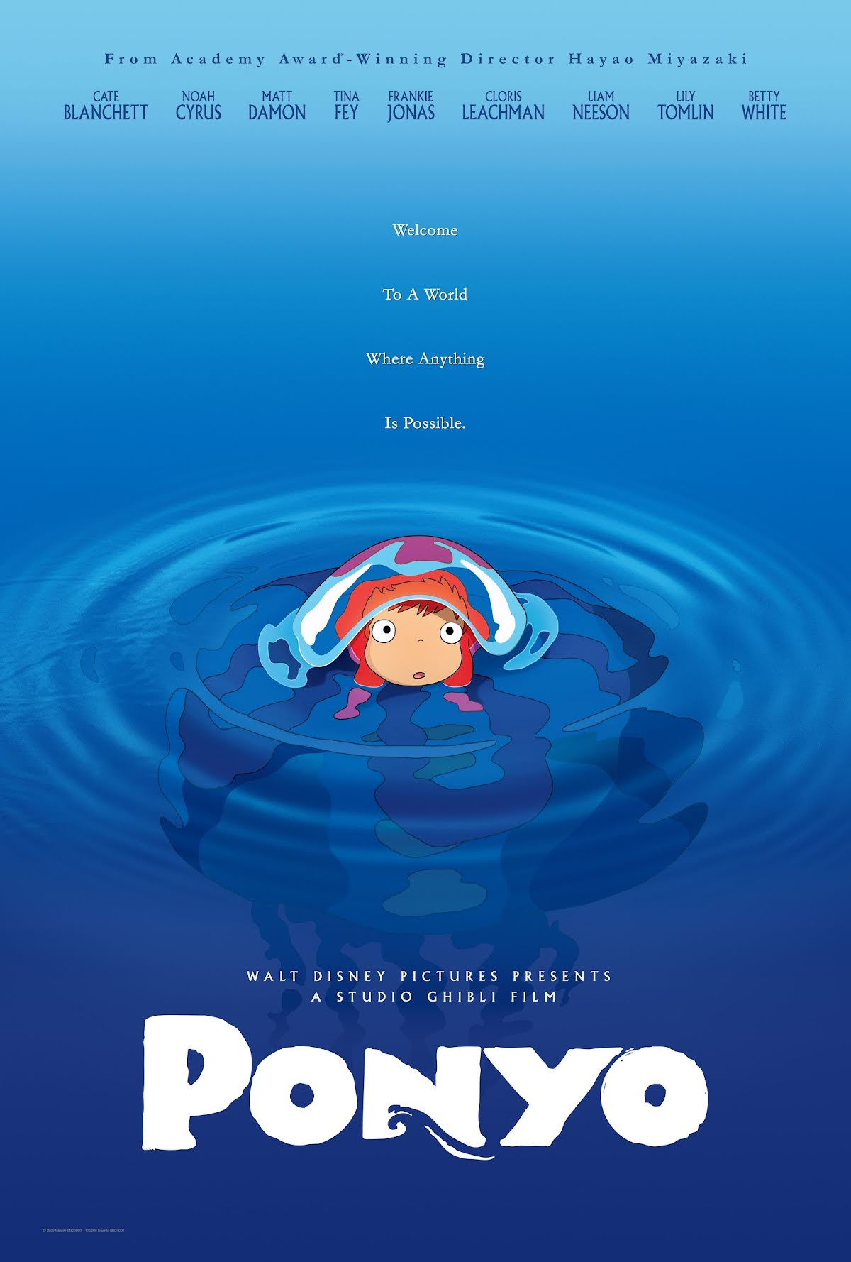 Ponyo en el acantilado - Gake no Ue no Ponyo - Ponyo on the Cliff by the Sea (2008)