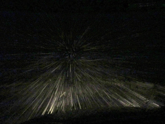 Warp speed on I-70 in Salina Canyon