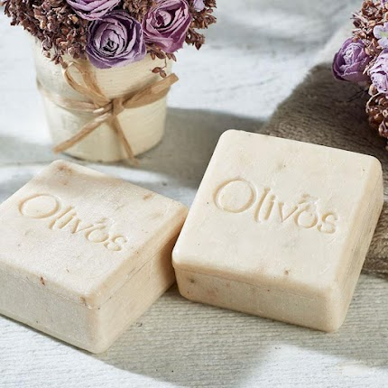 Натуральне оливкове мило Square Lavender