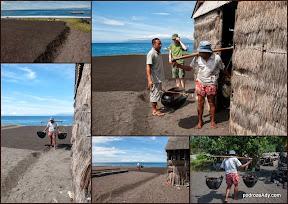 Proces wytrącania soli w Kusambie