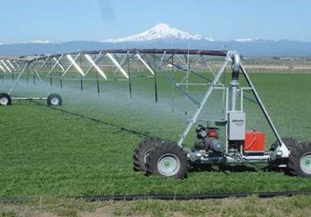 Lateral moving irrigation