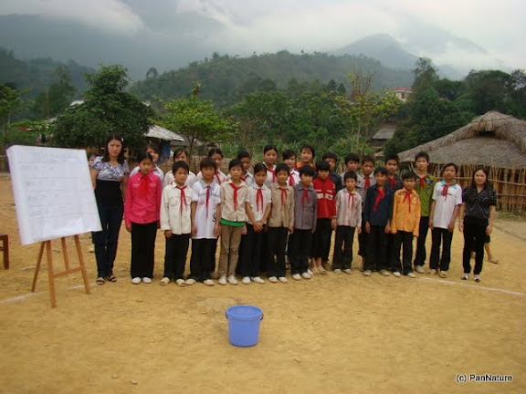 An extra-curriculum session on sustainable use of natural resources.