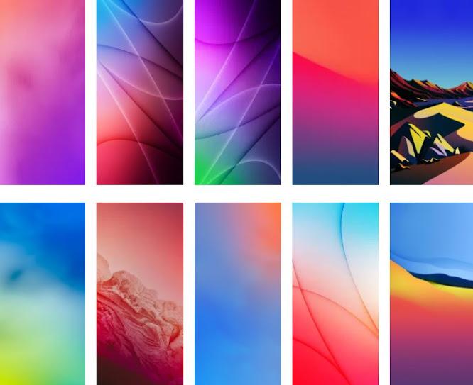 خلفيات iOS 15 wallpapers 4k