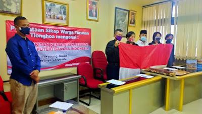 Pernyataan Sikap Warga Keturunan Tionghoa Sebagai Putera-Puteri Bangsa Indonesia, Berikut Penjelasan Galgendu