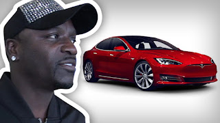 Akon's Tesla gets stolen and recovered few hours later