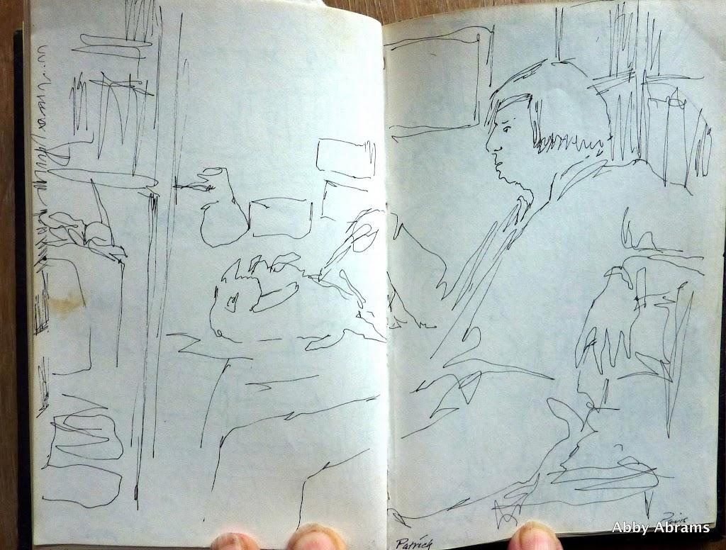 Kathleen's nasty boyfriend  sketch