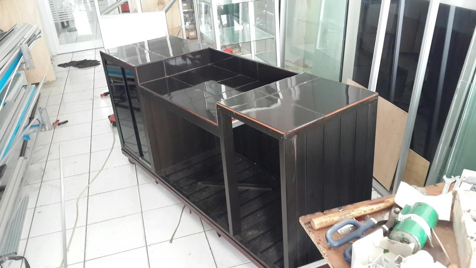 Meja Dapur Aluminium
