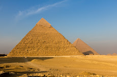 walking around the pyramids