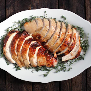 Roasting a Turkey for Two - Roasted Turkey Breast with an Apple Cider Brine