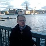 2009-10-18 Flisan och Pappa i Stockholm