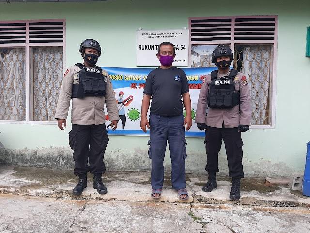Brimob Batalyon A Pelopor Laksanakan Kegiatan Tatap Muka Serta Sambang Warga Balikpapan