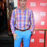 WWW.ENTSIMAGES.COM -   Dr Christian Jessen  arriving  at     Great Britain - press night at Theatre Royal Haymarket, London September 26th 2014West End Opening at Theatre Royal Haymarket for Richard Bean's GREAT BRITAIN -  Play about an ambitious tabloid editor in production described as anarchic satire about the press, the police and the political establishment.                                                    Photo Mobis Photos/OIC 0203 174 1069