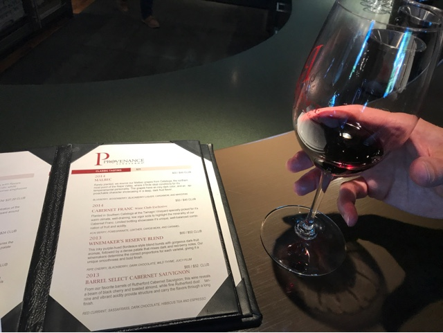 Provenance Vineyards Malbec 2014