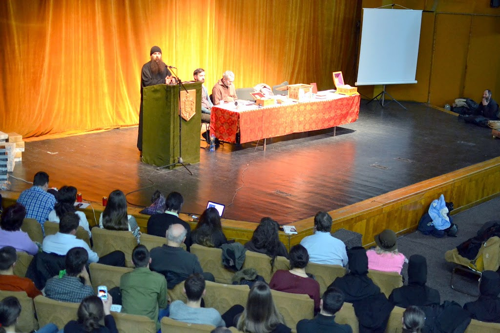 065 Avva Justin Parvu si Sfintii inchisorilor (Teatrul Luceafarul, Iasi, 2014.03.19)