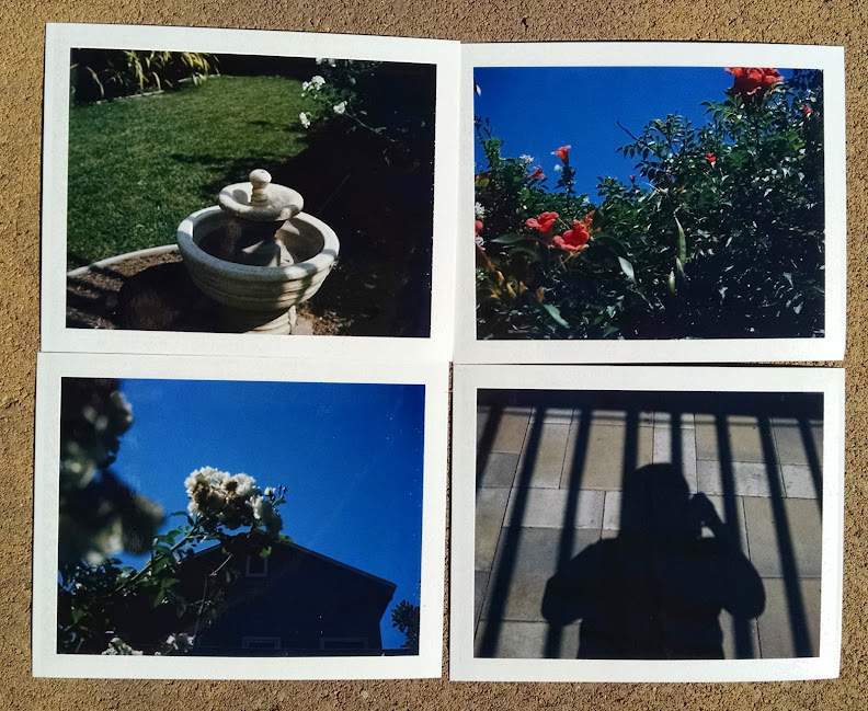 First four photos from Polaroid Land Model 250