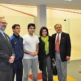 Josh Osteroff, Farhan Zaman, Arshad Burki, Dr. Jamila Khalil, Mahmud Jafri