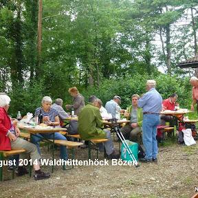 4. August 2014 Waldhüttenhöck Bözen