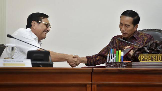 Luhut Sebut Kita Beruntung Punya Presiden seperti Jokowi: Mau Cari Dimana yang Kayak Gitu?